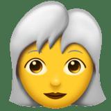 Смайл Женщина: блондинка ВКонтакте