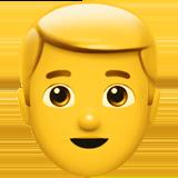 Смайл Мужчина блондин ВКонтакте
