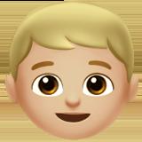Смайл Мальчик (светло-коричневый тон) ВКонтакте