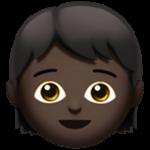 Смайл Ребенок: темный оттенок кожи ВКонтакте