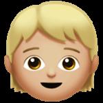Смайл Ребенок: средне-светлый тон кожи ВКонтакте