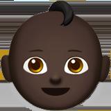 Смайл Ребёнок (черный тон) ВКонтакте