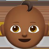Смайл Ребёнок (темно-коричневый тон) ВКонтакте