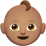 Смайл Ребёнок (оливковый тон) ВКонтакте