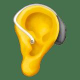 Смайл Ухо со слуховым аппаратом ВКонтакте