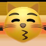Смайл Кот целует ВКонтакте