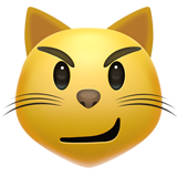 Смайл Кот с ухмылкой ВКонтакте