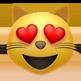 Смайл Влюбленный кот ВКонтакте