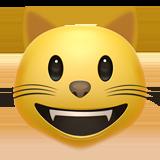 Смайл Кот с широкой улыбкой ВКонтакте