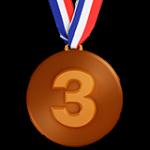 Смайл Бронзовая медаль ВКонтакте