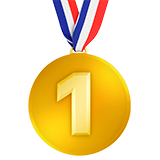 Смайл Золотая медаль ВКонтакте