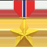 Смайл Военная медаль ВКонтакте