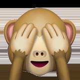 Смайл Ничего не вижу ВКонтакте