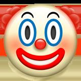 Смайл Клоунское лицо ВКонтакте