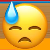 Смайл Холодный пот ВКонтакте