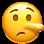 Смайл Лгущее лицо ВКонтакте
