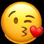 Смайл Воздушный поцелуй ВКонтакте