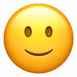 Смайл Легкая улыбка ВКонтакте
