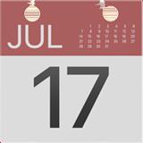 Смайл Календарь с датой ВКонтакте