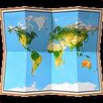 Смайл Карта мира ВКонтакте
