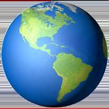 Смайл Америка на земном шаре ВКонтакте