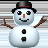 Смайл Снеговик без снега ВКонтакте