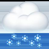 Смайл Снег ВКонтакте