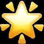Смайл Сияющая звезда ВКонтакте