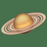 Смайл Планета с кольцами ВКонтакте