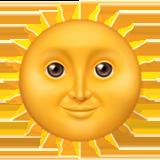 Смайл Солнце с лицом ВКонтакте