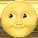 Смайл Луна с лицом ВКонтакте