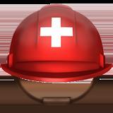 Смайл Шлем с белым крестом ВКонтакте