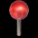 Смайл Канцелярская кнопка с шариком ВКонтакте