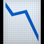 Смайл Диаграмма падения ВКонтакте