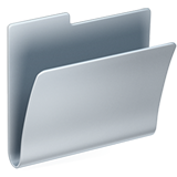 Смайл Открытая папка для файлов ВКонтакте