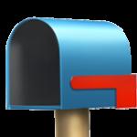 Смайл Открытый почтовый ящик с опущенным флажком ВКонтакте