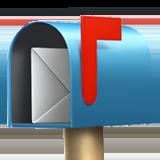 Смайл Открытый почтовый ящик с поднятым флажкгом ВКонтакте