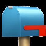 Смайл Закрытый почтовый ящик с опущенным флажком ВКонтакте