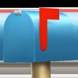 Смайл Заткрытый почтовый ящик с поднятым флажком ВКонтакте