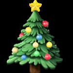 Смайл Новогодняя елка ВКонтакте