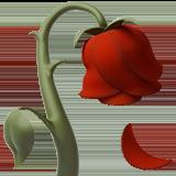 Смайл Увядший цветок ВКонтакте