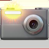 Смайл Фотоаппарат со вспышкой ВКонтакте