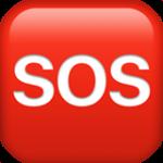 Смайл Значок SOS ВКонтакте