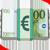 Смайл Банкнота евро ВКонтакте