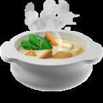 Смайл Тарелка с горячей едой ВКонтакте