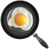 Смайл Яичница на сковороде ВКонтакте