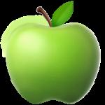 Смайл Зеленое яблоко ВКонтакте