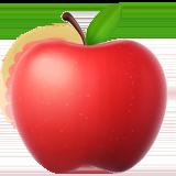 Смайл Красное яблоко ВКонтакте