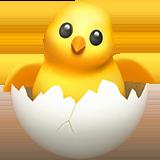 Смайл Цыпленок в яйце ВКонтакте