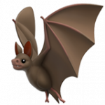 Смайл Летучая мышь ВКонтакте